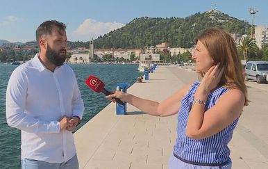 Mišo Krstičević, gradonačelnik Ploča, i Sofija Preljvukić (Foto: Dnevnik.hr)