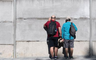 Berlinski zid, ilustracija (Foto: AFP)