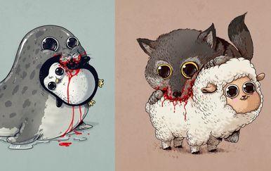 Slatki grabežljivci (Foto: Alex Solis)