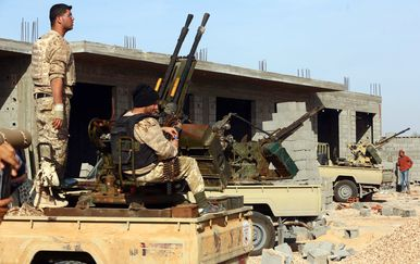 Libijska milicija (Foto: AFP)