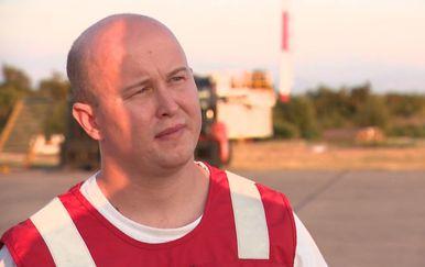 Marko Balen uživo na Krku razgovara s timom koji je porodio bebu u helikopteru (Foto: Dnevnik.hr) - 1