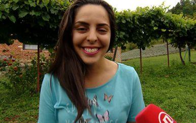 Vanessa Alexandra Quintero Morales u Zagorju (Foto: Dnevnik Nove TV)