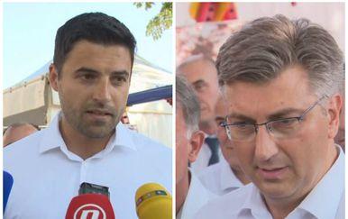 Davor Bernardić i Andrej Plenković (Dnevnik.hr)