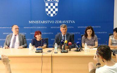Press konferencija Ministarstva zdravstva, predstavnici(Foto: Dnevnik.hr)