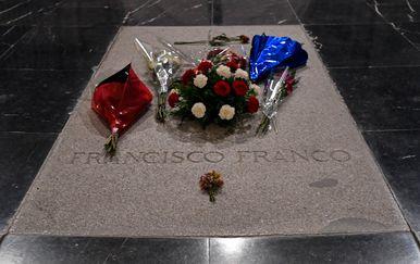 Grob Francisca Franca (Foto: AFP)