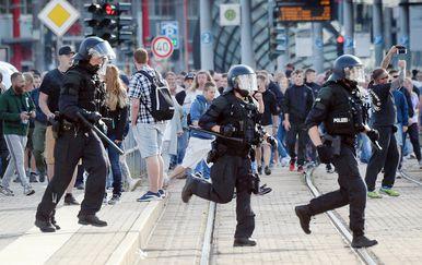 Policija u Chemnitzu (Foto: Andreas Seidel/DPA/PIXSELL)
