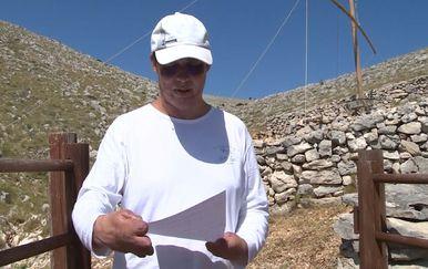 Frane Lučić na Kornatu (Foto: Dnevnik.hr) - 2