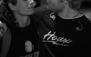 Ed Sheeran i Cherry Seaborn (Foto: Instagram)