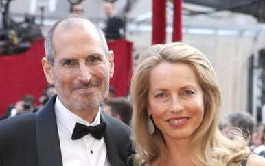 Laurene Powell i Steve Jobs (Foto: Getty Images)