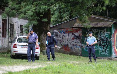 Mjesto kod Brezovice gdje su pronašli ubojicu s Kajzerice (Foto: Jurica Galoic/PIXSELL)