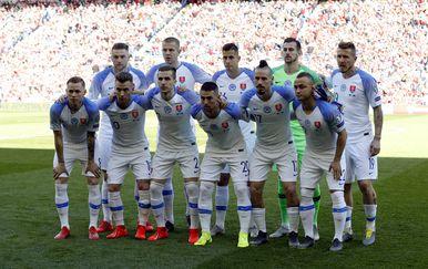 Slovačka reprezentacija (Foto: AFP)