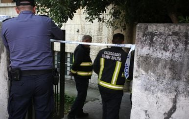 Policija i vatrogasci u Splitu, ilustracija (Foto: Miranda Cikotic/PIXSELL)