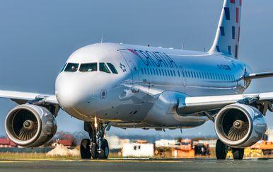 Zrakoplov Croatia Airlinesa (Foto: Croatia Airlines)