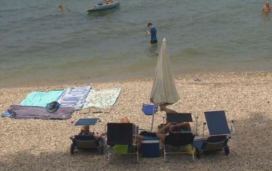 Naplata ulaska na plažu (Foto: Dnevnik.hr)