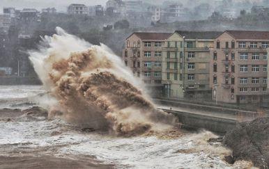 Tajfun Lekima, Kina (Foto: AFP)