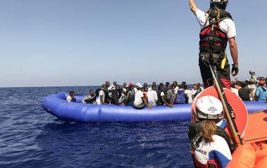 Ocean Viking spasio još 81 migranta (Foto: AFP)