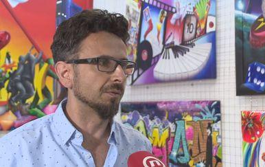 Akademski slikar Danijel Jaman (Foto: Dnevnik.hr) - 1