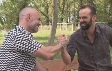 Davor Garić i Ivan Šarić (Foto: Dnevnik.hr)