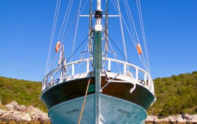Jedrenjak na kojem su stradali Talijani (Foto: Atlantia Cruising)