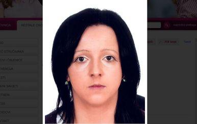 Nestala Brankica Tomašević (Screenshot: nestali.hr)
