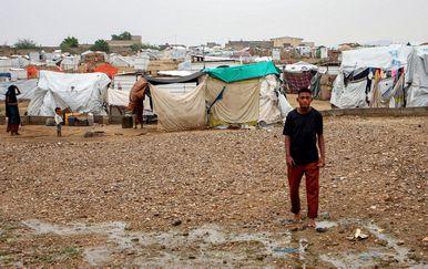 Izbjeglički kamp (Foto: AFP)