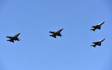 Let borbenih aviona, ilustracija (Foto: Hrvoje Jelavic/PIXSELL)