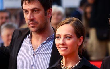 Goran Bogdan i Jovana Stojiljković (Foto: Armin Durgut/Pixsell)