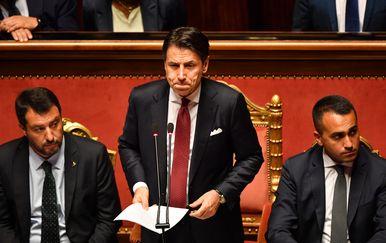 Giuseppe Conte podnio ostavku (Foto: AFP)