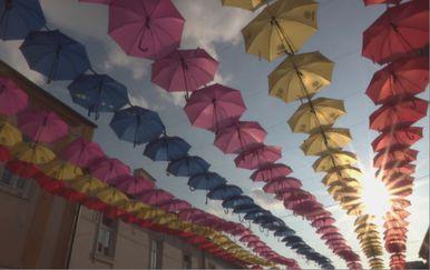 Šareni kišobrani (Foto: Dnevnik.hr)
