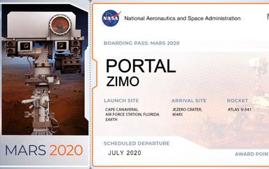 Karta za Mars