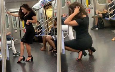 Selfie u vlaku (Foto: Screenshot/Twitter)
