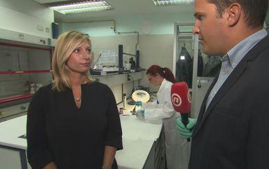 Andrea Ledić i Domagoj Mikić (Foto: Dnevnik.hr)