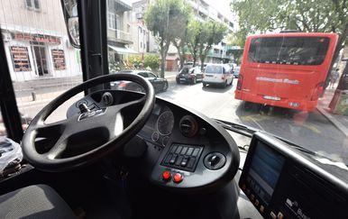Štrajk vozača šibenskog Autotransporta (Foto: Hrvoje Jelavic/PIXSELL) - 2