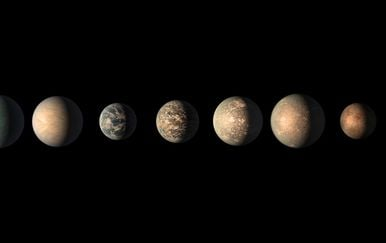 Potencijalno naseljivi egzoplaneti, ilustracija