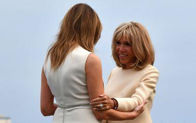 Melania Trump vs. Brigitte Macron