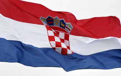Hrvatska zastava (Foto: Goran Ferbezar/PIXSELL)
