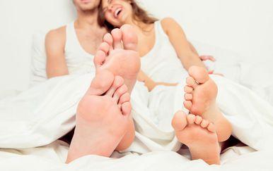 I nožni prsti mogu biti jedan od pokazatelja voli li vas partner