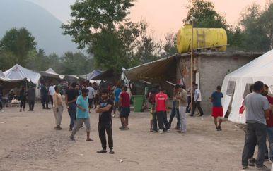 Bosansko-hercegovački kamp za migrante Vučjak (Foto: Dnevnik.hr)