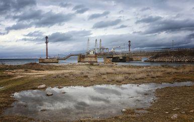 Mjesto gdje je predviđena izgradnja novog plutajućeg LNG-a (Foto: Boris Scitar/Vecernji list/PIXSELL)