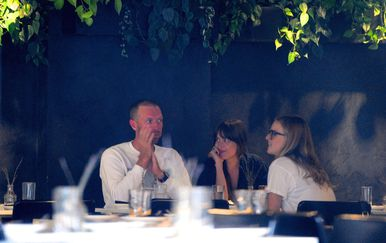 Chris Martin i Dakota Johnson (Foto: Profimedia)