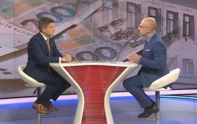 Mislav Bago s gostom Zdravkom Marićem (Foto: Dnevnik.hr)