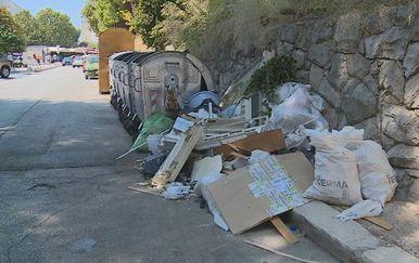 Previše smeća (Foto: Dnevnik.hr)