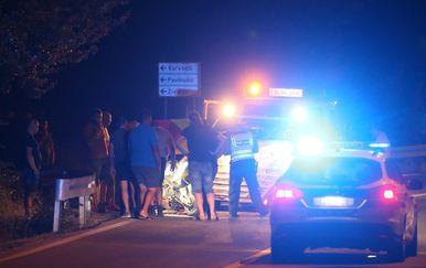 Na cesti između Trilja i Sinja poginuo motorist (Foto: Ivo Cagalj/PIXSELL) - 4