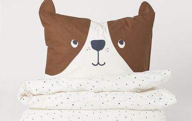 Medena jastučnica s ušima iz trgovine H&M Home - 2