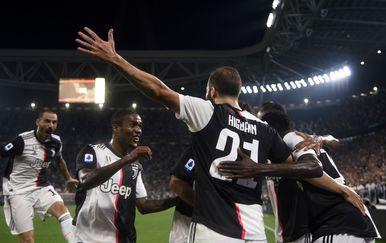 Slavlje Juventusa (Foto: AFP)
