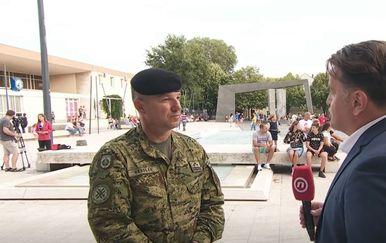 Brigadir Dražen Ressler i Andrija Jarak