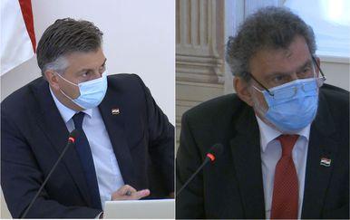 Ministar Fuchs i premijer Plenković