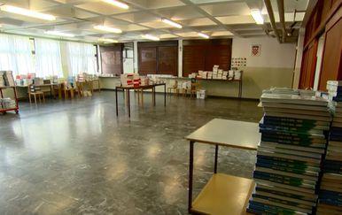 Priprema škole blagavaonice za održavanje nastave