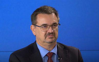 Gordan Akrap, stručnjak za informacijske znanosti i komunikologiju, u studiju Dnevnika Nove TV - 3