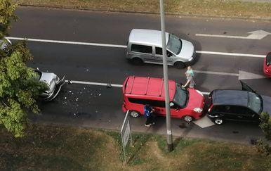 Prometna nesreća na Selskoj cesti u Zagrebu